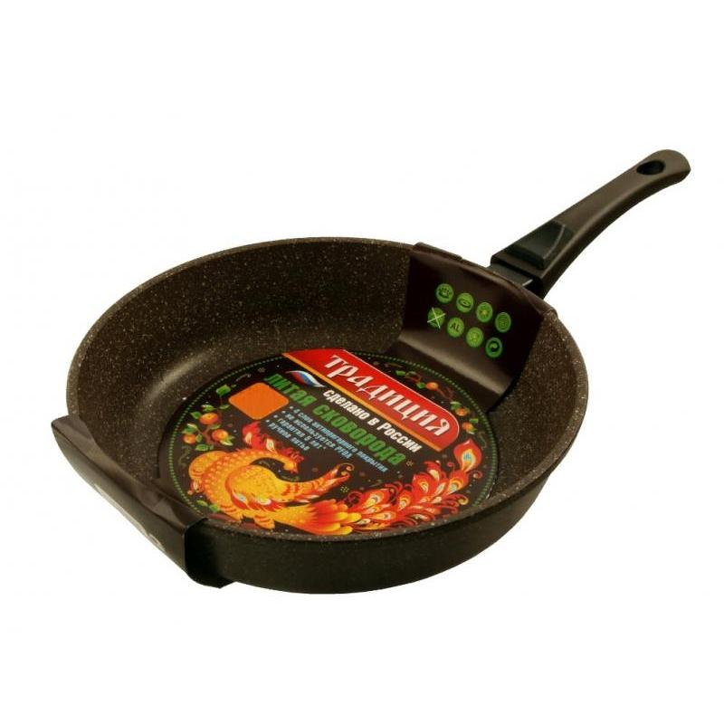 Frying Pan Tradition, Dolomite, 24 Cm, With Removable Handle