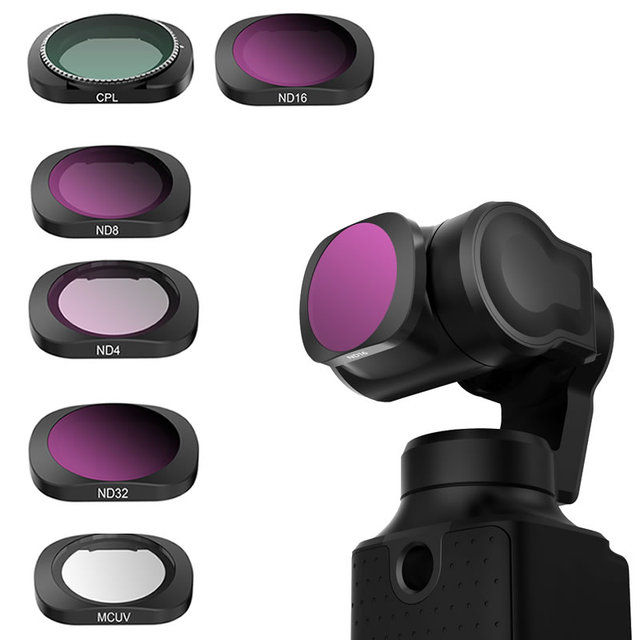 Lens Filter for FIMI Palm Gimbal Camera ND CPL Camera Professional Filter ND4 ND8 ND16 ND32 Glass FIMI Palm Accessories