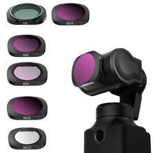 عدسة تصفية ل فيمي النخيل كاميرا ذات محورين ND CPL كاميرا المهنية تصفية ND4 ND8 ND16 ND32 الزجاج فيمي النخيل الملحقات
