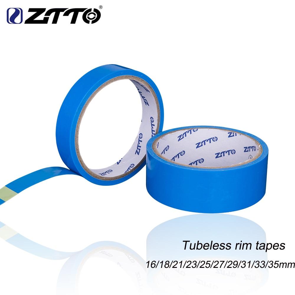 ZTTO-cintas de llanta sin cámara para bicicleta de montaña, 10m de ancho, 16/18/21/23/25/27/29/31/33mm para rueda de bicicleta de 26, 27,5 y 29 pulgadas, 700c