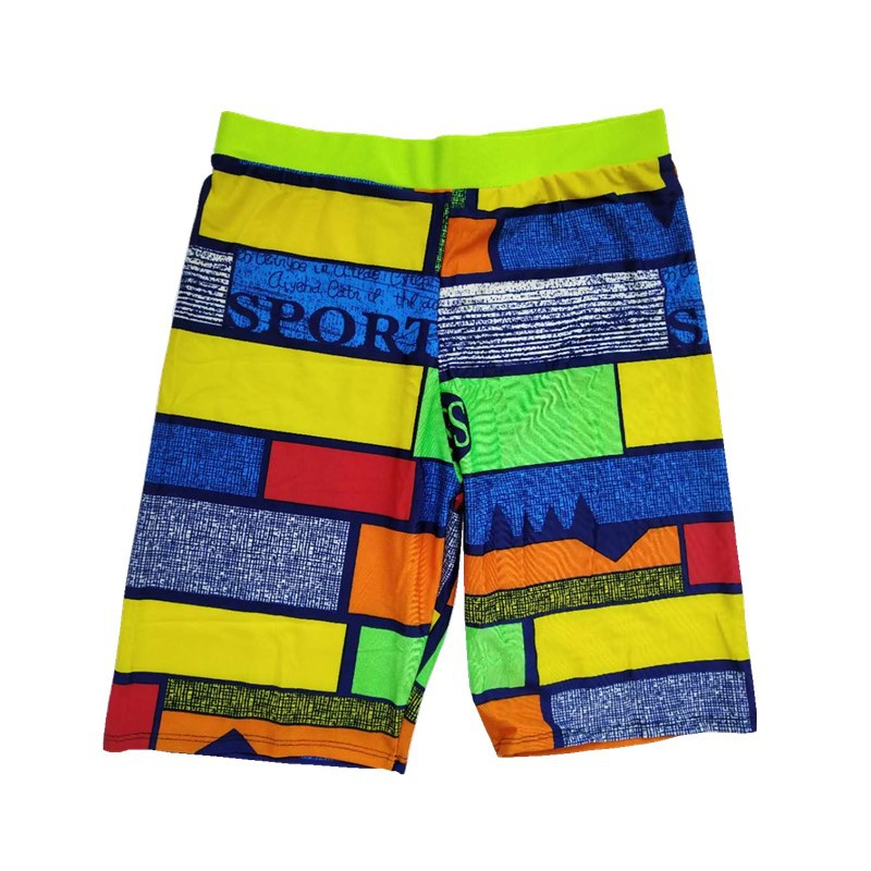 New Style Swimming Trunks Men's Short Fashion Models Quick-Dry Large Size Swimming Trunks Men Long Swimming Trunks Hot Springs B