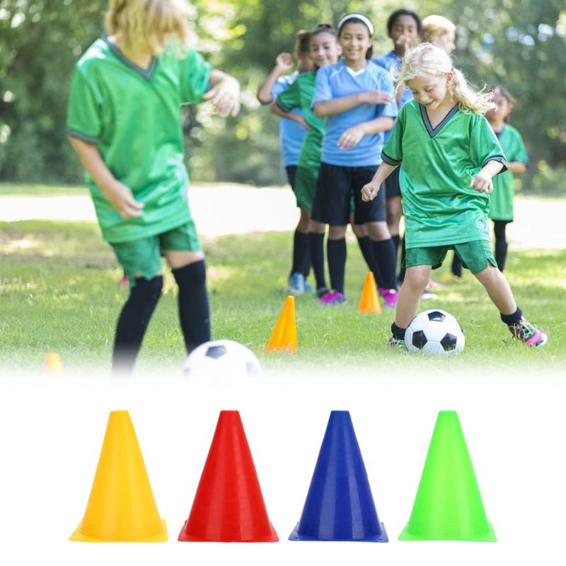 Durable Sports Cones Skating Football Training Workout Marker And Disc Holder For Kids Field Activity