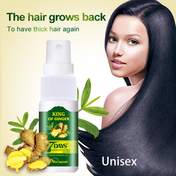 30ML do włosów Ginger esencja na długie rzęsy Spray materiału biologicznego do włosów Serum wzrostu istotą oleju utrata włosów traktowania kobiet i mężczyzn TSLM1 tanie i dobre opinie CN (pochodzenie) 1pcs Hair Growth Essense Oil Ginger ginseng polygonum multiflorum and angelica extract Support Retail
