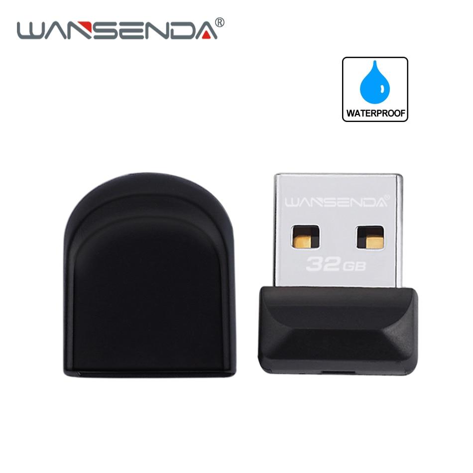 100% Original WANSENDA Super Tiny USB Flash Drive USB 2.0 Pendrive 4GB 8GB 16GB 32GB 64GB Pen Drive Thumbdrive Flash Drive