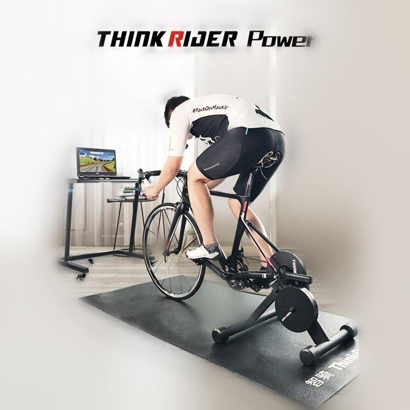 ThinkRider Power MTBจักรยานสมาร์ทเทรนเนอร์จักรยานBuilt-in Power MeterจักรยานTrainersแพลทฟอร์มขี่จักรยานในร่มแพลตฟอร์ม