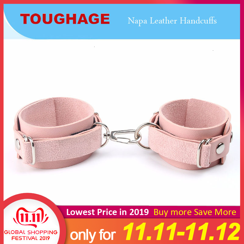 Exotic Accessories Sexy Adjustable Leather Handcuffs Ankle Cuff Restraints BDSM Bondage Sex Toy