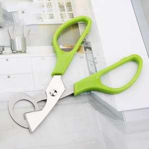 1*Home Quail Egg Scissors Cracker Opener Cigar Cutter Stainless Steel Tools fas