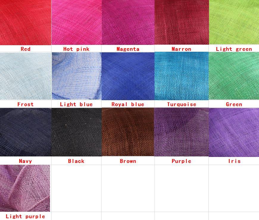 new sinamay color chart 2