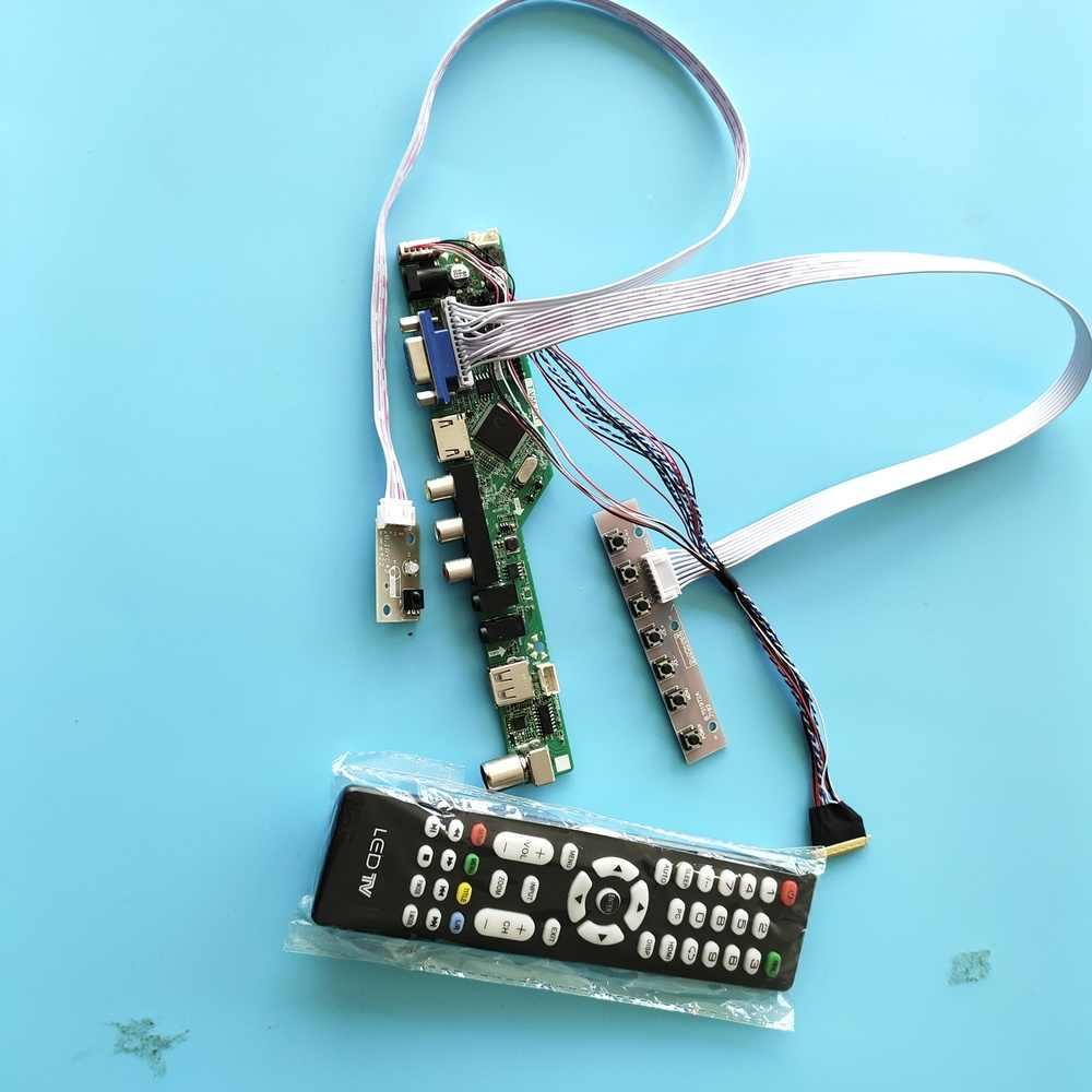 LP173WD1 Work For LCD LED screen Controller Board Driver TV+HDMI+VGA+AV+USB Kit