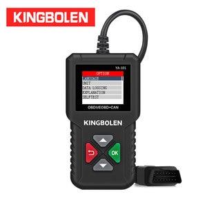 Image 1 - KINGBOLEN YA101 Code Reader OBDII/EOBD YA 101 Auto Diagnostic Tool Graph Datastream OBD2 Real 16Pin DIY Scanner CR3001
