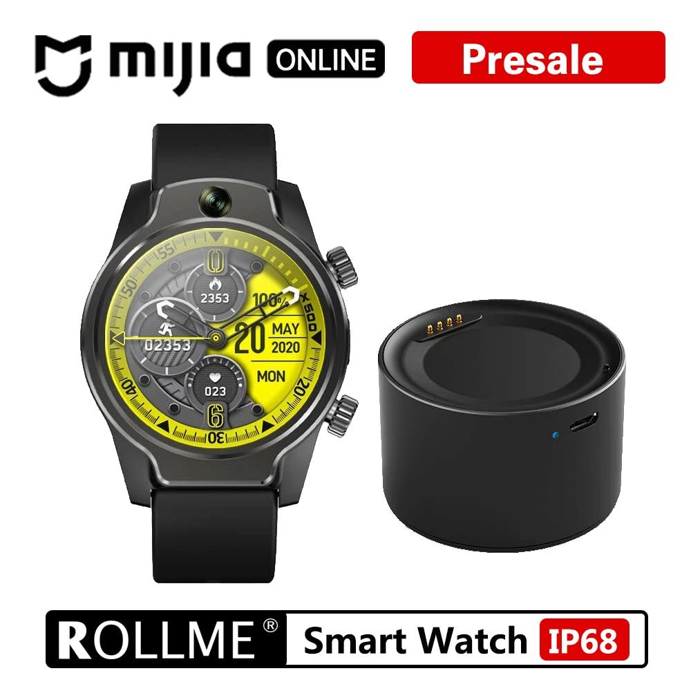 Rollme S08 Smartwatch телефон 1,69 дюймов IPS экран 50 м водонепроницаемый 8 Мп передний Carmera Dual 4G LTE GPS MT6739 3560mAh аккумулятор IP68|Смарт-часы|   | АлиЭкспресс