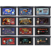32 Bit Video Game Cartridge Console Card For Nintendo GBA STG Shooter Game Series Edition