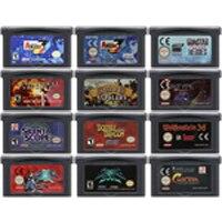 Cartão do console do cartucho do jogo de vídeo de 32 bits para a série do jogo do atirador de nintendo gba stg edition