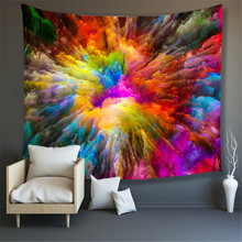 Colorful Wall Hanging Tapestries Indian Mandala Tapestry Hippie Chakra Tapestry Boho Decor Wall Cloth Yoga Mats