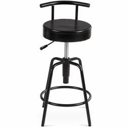 Регулируемый Вертлюг винтажный барный стул pu кожа стальная рама стулья для дома коммерческий HW61046