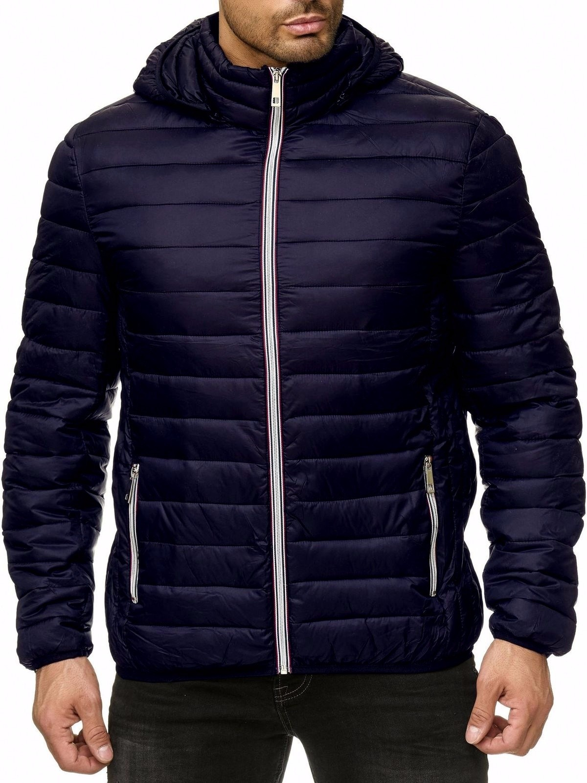 Mens Hooded Cotton-padded Clothes for Men Winter Coat  Jacket