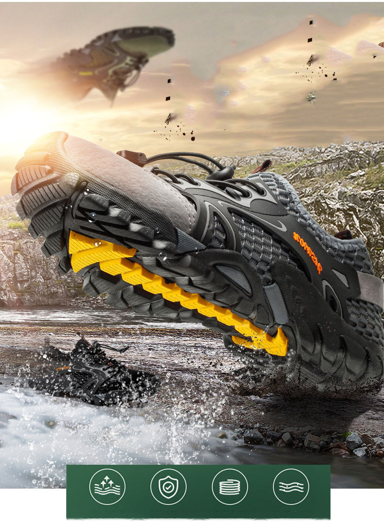Para Caminhada Esportes Sapatos de Natação Do