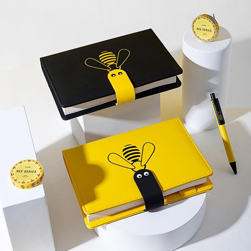 Agenda 2020 Planner Organizer B6 Bullet Journal Weekly Grid Diary Notebook Cute Bee Monthly Note Book Wonderful Travel Handbook