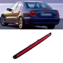 1 قطعة سيارة LED الثالثة وقف الفرامل ضوء أحمر عدسة الخلفية الذيل مصباح صالح لمرسيدس بنز E Class W211 2003 2004 2005-2009 2118201556