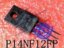 1 peças original novo stp14nf12fp p14nf12fp 120 v 8.5a TO-220F em imagem real em estoque