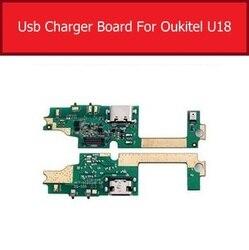 ميكروفون وشاحن USB جاك المجلس ل Oukitel U18 شحن ميناء لوحة تركيبية Usb موصل ميناء مجلس استبدال أجزاء