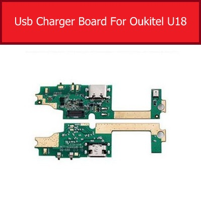 Microphone & Charger USB Jack Board For Oukitel U18 Charging Port Board Module Usb Connector Port Board Replacement Parts