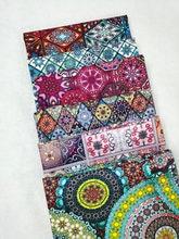 Tissu africain en coton, ancien carré mystérieux, religieux, fleur géométrique, tissu de couture, robe, vêtements, Patchwork
