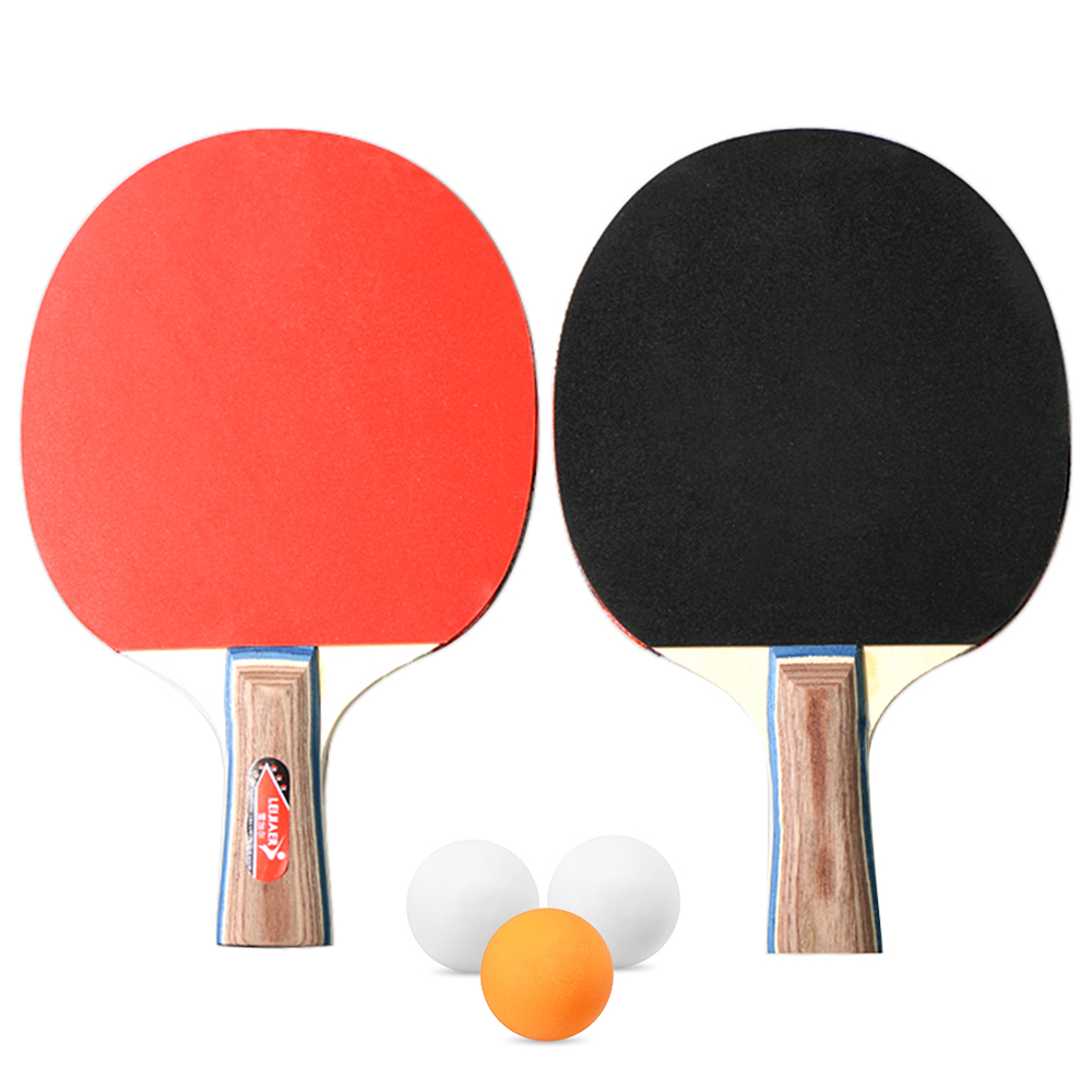 Table Tennis Racket Case Cover for 1 Ping Pong Paddle Bat 3 Balls Hot Sale