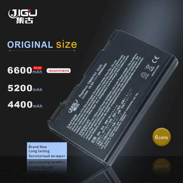 JIGU batterie pour Acer Extensa, pour modèle 5220, 5235, 5620, 5630, 7620, TravelMate 5320, 5520, 5720, 7720, 7520, 6592, TM00741, TM00751, GRAPE32