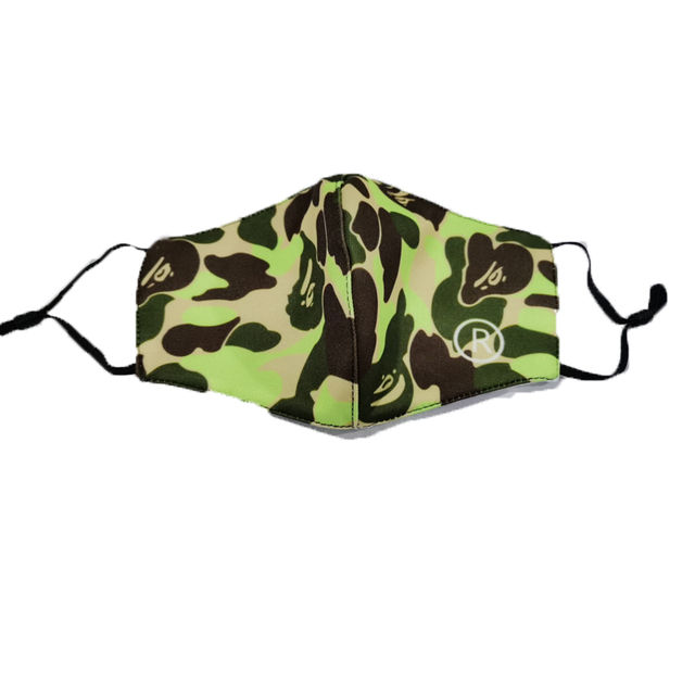 Anti Dust Mouth Mask Fashion Camouflage Color,Adjust Reusable Washable Dustproof Soft Face Mask Breathable 5