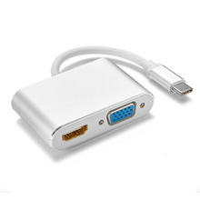 USB3.1type-C To HDMI VGA Type-C To HDMI HD Cable Support Macbook