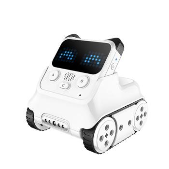 Makeblock Codey Rocky programowalny Robot fajne zabawki prezent do nauki AI Python pilot zdalnego sterowania dla dzieci w wieku 6 + tanie i dobre opinie Metal 18 5*13*9 2 CM P1030069 Codey Rocky Samochody Small parts Not for children under 3 yrs Samochód Oryginalne pudełko