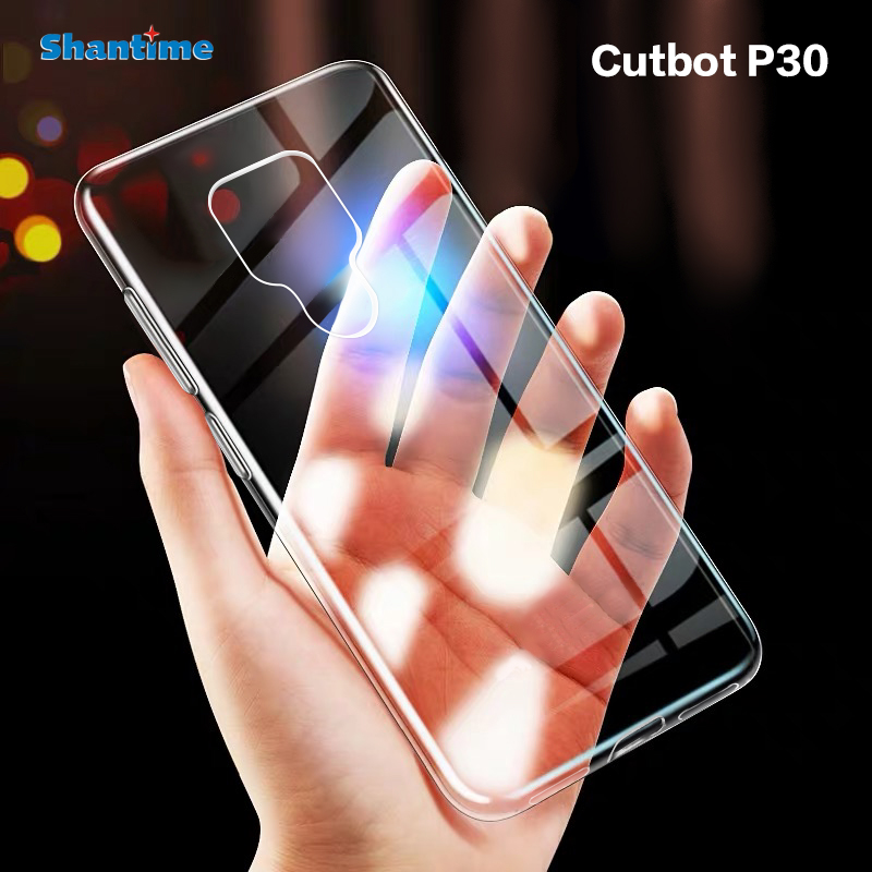 For Cubot P30 Case Ultra Thin Clear Soft TPU Case Cover For Cubot P30 Couqe Funda(China)