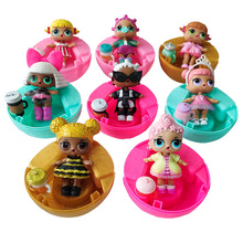 Genuine LOL Surprise Dolls Original Lol Doll Ball with Function Toys Action Figure Cartoon Movie Figura for Girls Gifts