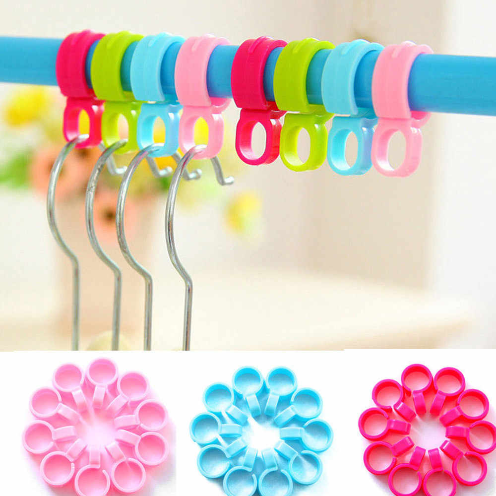 10pcs Windproof Laundry Clothes Pins Hanging Pegs Clips Plastic cabides Hangers Racks Clothespins quality hangers for clothes