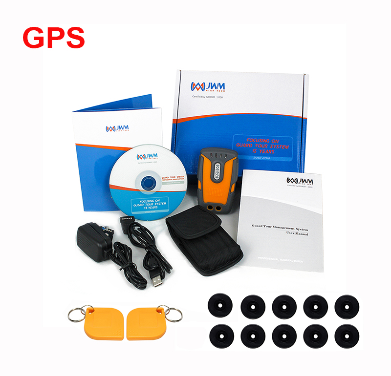 JWM GPS GPRS RFID Guard Tour Patrol System With Free Software