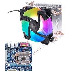 Радиатор ЦП с 4 тепловыми трубками, вентилятор охлаждения 90 мм, радиатор для разъема AMD, радиатор для кулера intel