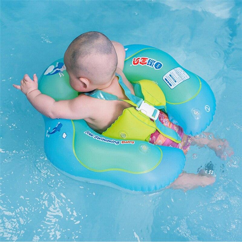 Bébé natation anneau 0-6 ans gonflable aisselles anneau de natation sécurité Protection enfants Double radeau flottant jouet piscine accessoires