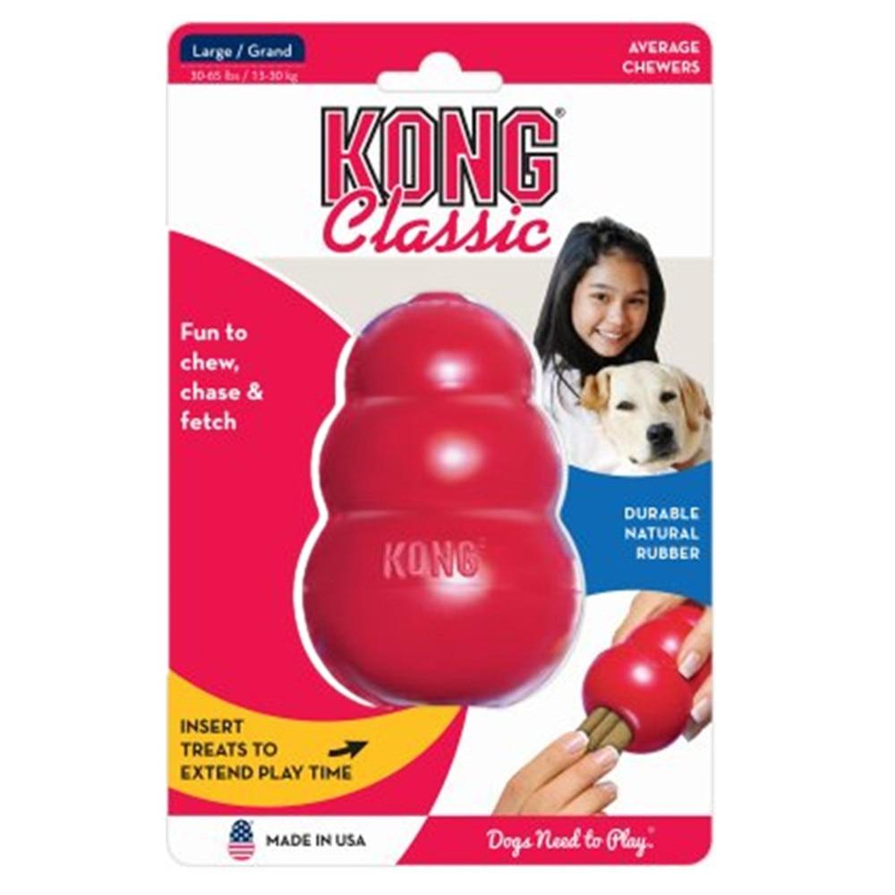 Brinquedo clássico do cão de XS-XXL kong com sua escolha do brinquedo do deleite do cão