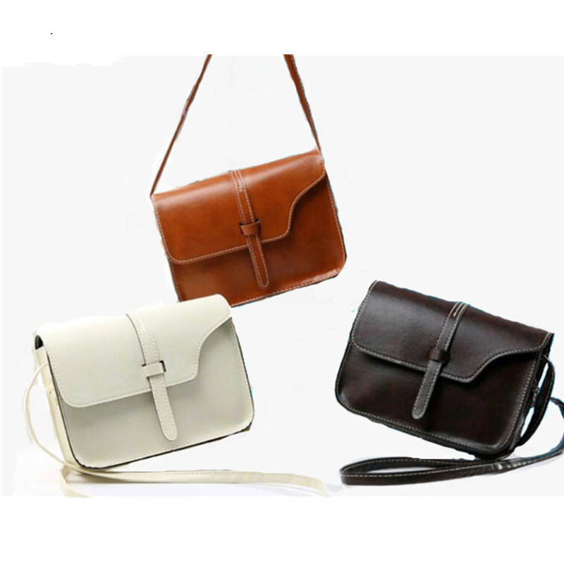 MINI Bags For Women Handbag  PU Leather Bag Small Crossbody Bags Vintage Spring Women Shoulder Bag