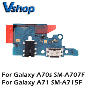 Image 1 - For Galaxy A70s SM A707F Charging Port Board for Galaxy A71 SM A715F Mobile Phone Replacement parts USB Charger Board