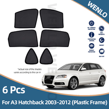 Sunshade Cover Car-Curtain-Visor Car-Side-Window Magnetic Audi for A3 Hatchback