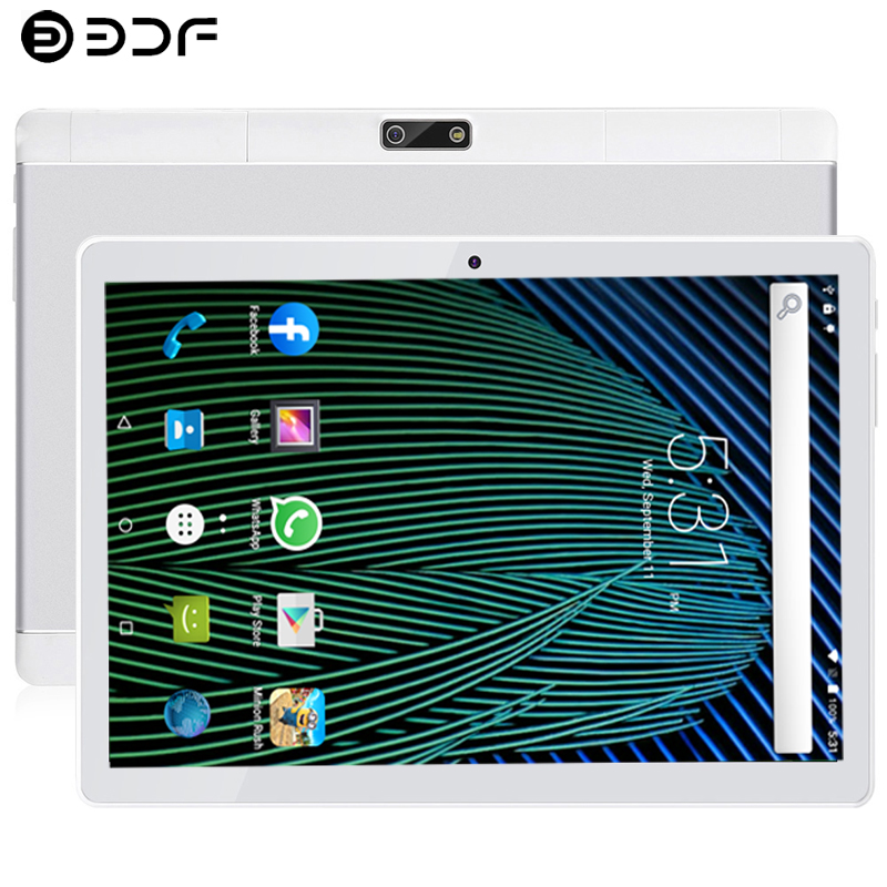 10.1 Inch Tablet PC Android 9.0 3G/4G Phone Call 8GB/128GB Ten Core Dual SIM Support OTG Wi-Fi Touch Tablet PC+Cover