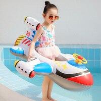 Baby Schwimmen Ring Kinder Aufblasbare Pool Float Kreis Sicherheit Schwimmen Sitz Kinder Sommer Wasser Baden Spielzeug Zubehör