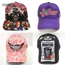 Joker Caps Baseball-Cap Clown Boys Women Hat Hip-Hop-Hats Girls Adult Unisex Print Popular
