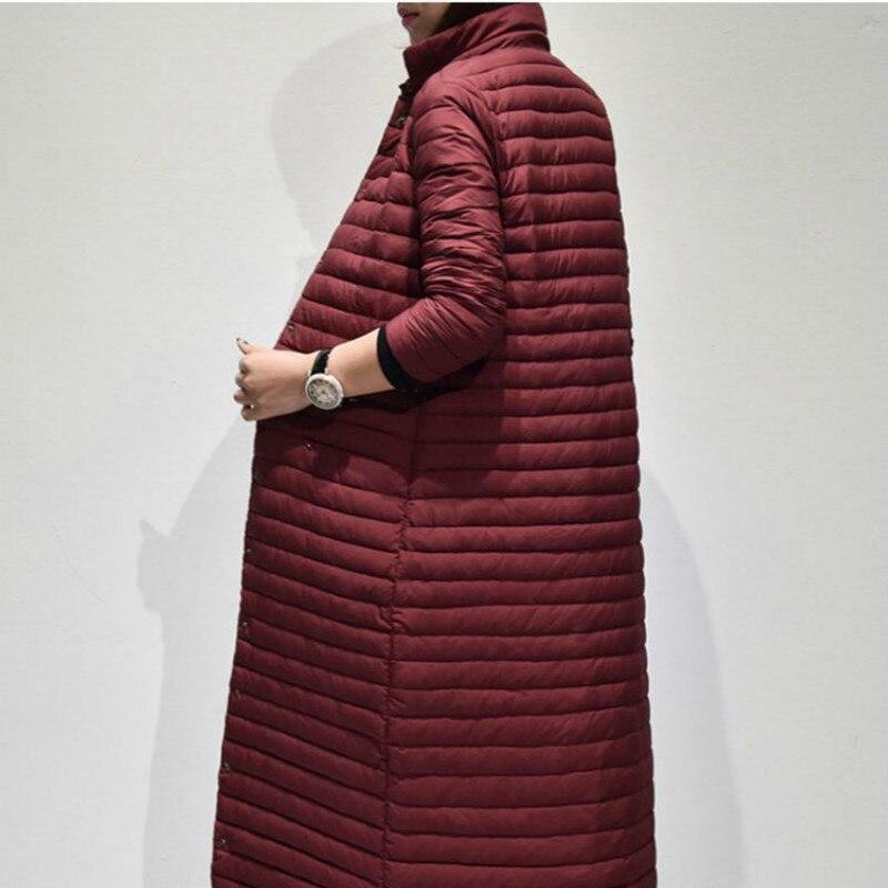 Womens Warm 90% White Duck Down Jacket Women Long Parkas Winter Coat Female Puffer Jacket Abrigo Mujer YY1188