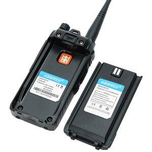 Image 5 - 2020 Abbree AR F3 Tri Band 8w Walkie Talkie uhf vhf 220 260MHz long range มือถือสองทาง cb วิทยุเดินป่า uv 5r