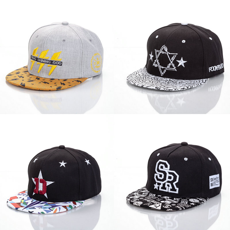 Acrylic Embroidered Headwear Outdoor Casual Sun Baseball Cap For Man And Women Children Hip Hop Cap For More Than 10 Years Old