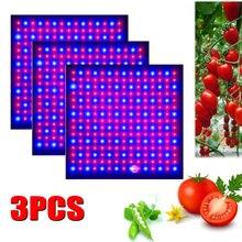 3個のled成長ライト1000ワットランプ植物フルスペクトルフィトランプfitolampy屋内ハーブ温室用の光テントボックス