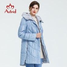 5810 アストリッド冬の女性のコートカジュアル女性パーカー女性フード付きコートソリッドウクライナプラスサイズファッションスタイル最高 AM-